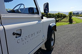Our vehicle for the winery tour