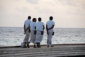Amazing staff at Huvafenfushi