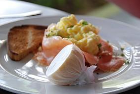 Breakfast at Carlisle Bay
