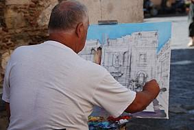 Taormina artist