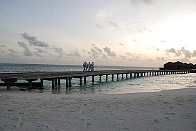Huvafenfushi evening