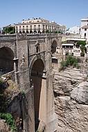 Ronda famous bridge