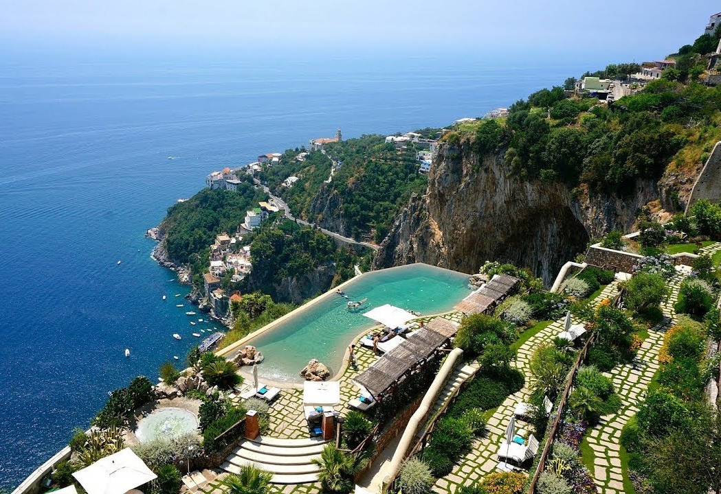 santa rosa amalfi coast infinity pool